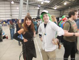 Supanova 2013 - N and Avatar girl by fulldancer-alchemist