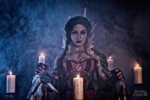 Issabel Cospaly as Filippa Eilhart by MLCFoto