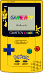 Game Boy Color [Pokemon 1] by BLUEamnesiac