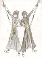 Renji and Kenji: The Twins of Yin and Yang by CanadianGothStalker
