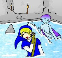 Link And Ruto Water Fight by Midnas