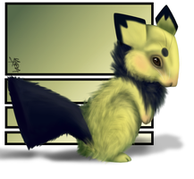 Realistic Pichu by Arceus55