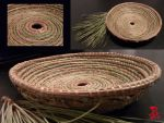 Pine Needle Basket by adnileb