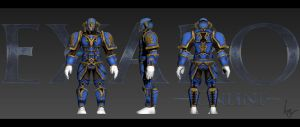 Exaro Online Armour by AaronQuinn