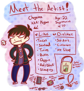 Meet The Artist by Kiyan200