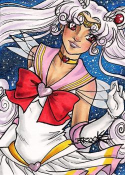 ACEO #196 - Sailor Fides by SailorAlcyone