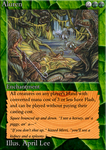 MTG: 'New-Classic' Green Card by Ni9hth4wk
