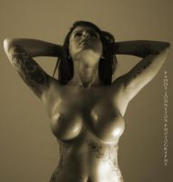 Donna Marie 056 sepia by ARTEROTICA1
