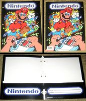 Vintage Nintendo Mario NES Advantage Folder by avaneshop