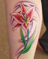 Lily Tattoo by joshing88