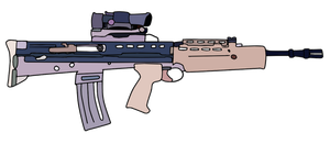 L85 Rifle by WhellerNG