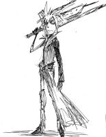 Cloud Strife - Burton Style by Ex-Soldier-Cloud
