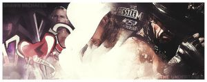 Shawn Michaels vs Undertaker by dim861