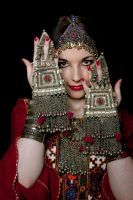 Afghan Woman  - hidden by Apsara-Stock