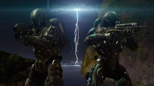 ODST and Recon by HaloRecons12