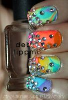 My Katy Perry Concert Nails by SamariumsSwatches