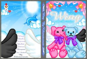 4th fiction cover wing by kkkiiikkk