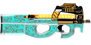 P90 (Tron) Floral Dec. by PatB91