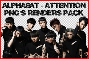 AlphaBAT - Attention (PNG's Renders Pack #2) by Jejegaga