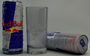 Red Bull can with glass by Dracu-Teufel666
