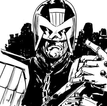 DSC Judge Dredd by MarcLaming
