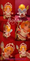 chibi Caramel plush version by Momoiro-Botan
