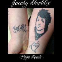 Jacoby Shaddix - Portrait Tat by rockography