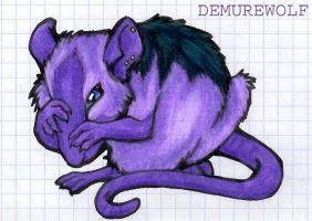 Purple Ratling by WhiskerWing