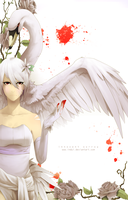 Dirge of Swans by indui