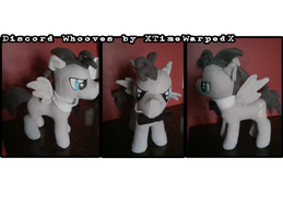Discorded Doctor Whooves Plushie by XTiMe-WaRpEdX