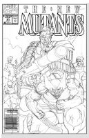 New Mutants Redux by KomicKarl