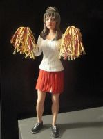 'The Witch' - 12 inch Cheerleader Buffy Statue by tjjwelch