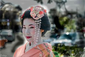 Sight in Kyoto by Rikitza
