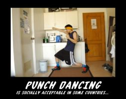 Punch Dancing by monjava