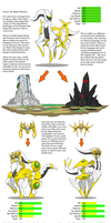 Arceus Forme Change: 6th gen idea by Blood-Asp0123