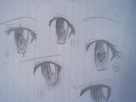 eye practice by ConnieBree