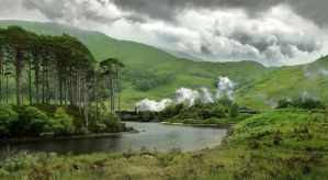 scotland XII train to hogwarts by max702