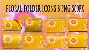 Floral Folder Icon 007 by fandvd