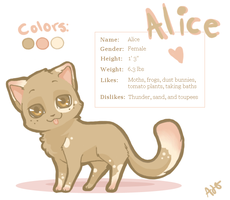 Alice Ref by Powerkitty