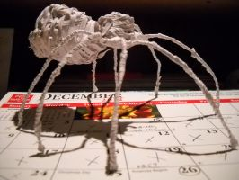 Twist Tie Spider 2, view 2 by RC-Iname