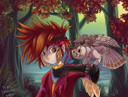 Owl buddy by Nothofagus-obliqua