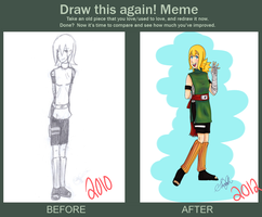 Draw this again - Sairah by Creativegreenbeans