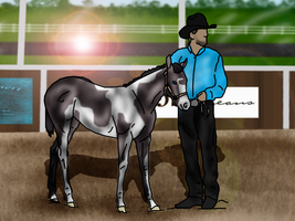 ..:: WMS Chico's Enzonian Diamond - Halter ::.. by Starcather9