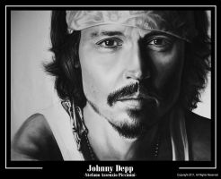 JOHNNY DEPP by SteASSENZIOPiccinini