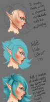 Smol Hair Tutorial by KitiRyu