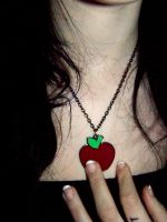 Apple Necklace by HeartStopping