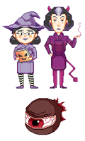 Very Spooky TF2 pixels by radcalculator
