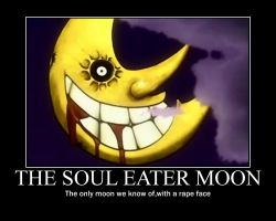 Soul Eater Moon Poster by Winged--Maned--Wolf