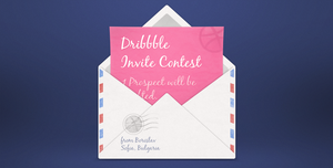 Dribbble Invite Contest by borislav-dakov