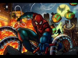 Spiderman Versus by anubis2kx